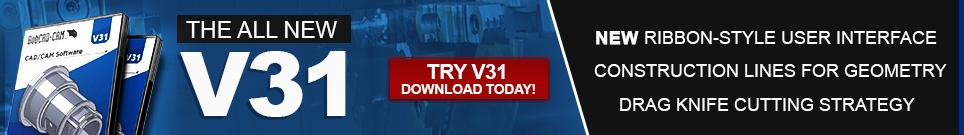BobCAD-CAM Latest Release V31 CAD-CAM Software