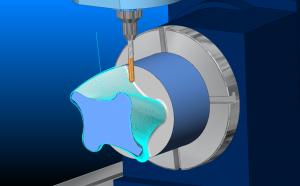 cad-cam-Rotary-4-axis-cnc-machine-simulation